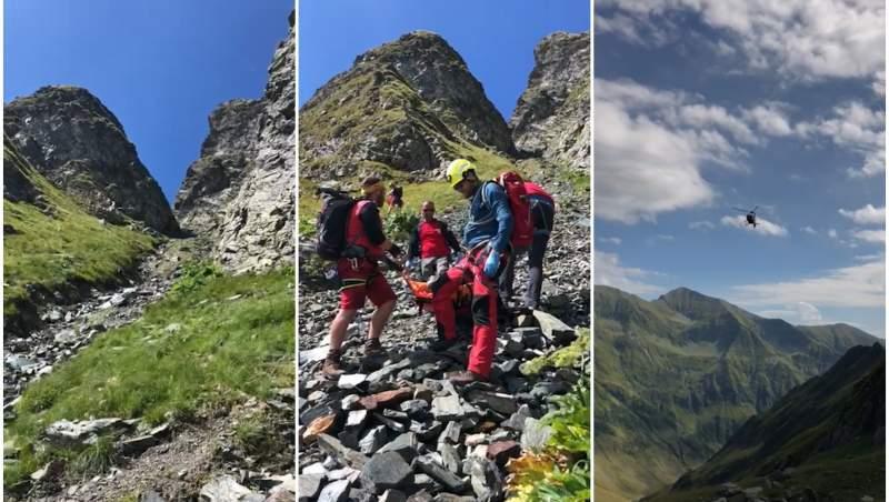 Un cadru militar plecat la alpinism pe Creasta Făgărașului a căzut și a murit. Salvamontiștii au fost blocați în trafic pe Transfăgărășan