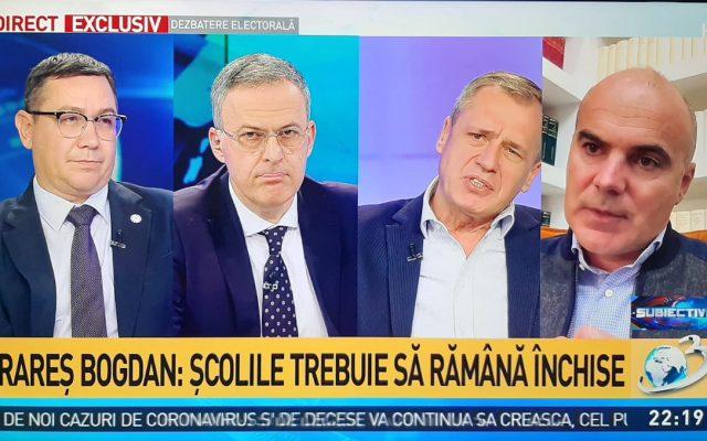 Rareș Bogdan scapa porumbelul : USR-PLUS deveniseră periculoși!