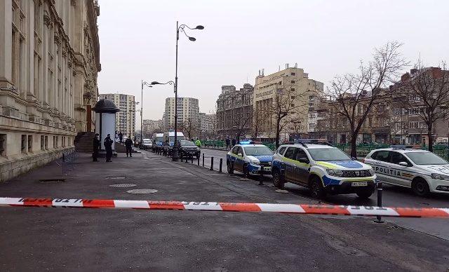 VIDEO Alertă cu bombă la Curtea de Apel București în ziua în care se judecă dosarul de corupție al Elenei Udrea