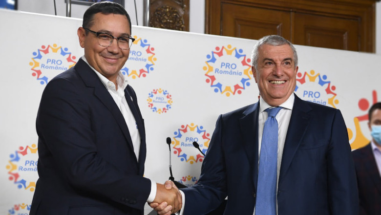 Ups….adio fuziune !!! Călin Popescu Tăriceanu și Victor Ponta 'DIVORȚEAZĂ': ALDE și PRO România rup fuziunea