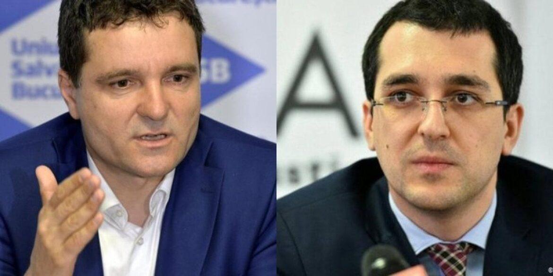 Se pregateste al doilea divort in prima luna din 2021? Nicusor Dan continua razboiul cu Vlad Voiculescu.