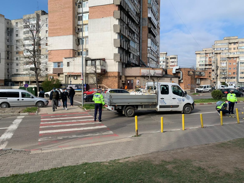 Accident tragic azi dimineata in Buzau pe trecerea de pietoni…Avem primele imagini de la fata locului.