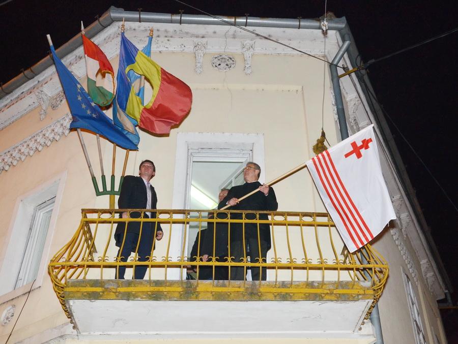 România, condamnată la CEDO în cazul Tokes, după arborarea steagului Ținutului Secuiesc