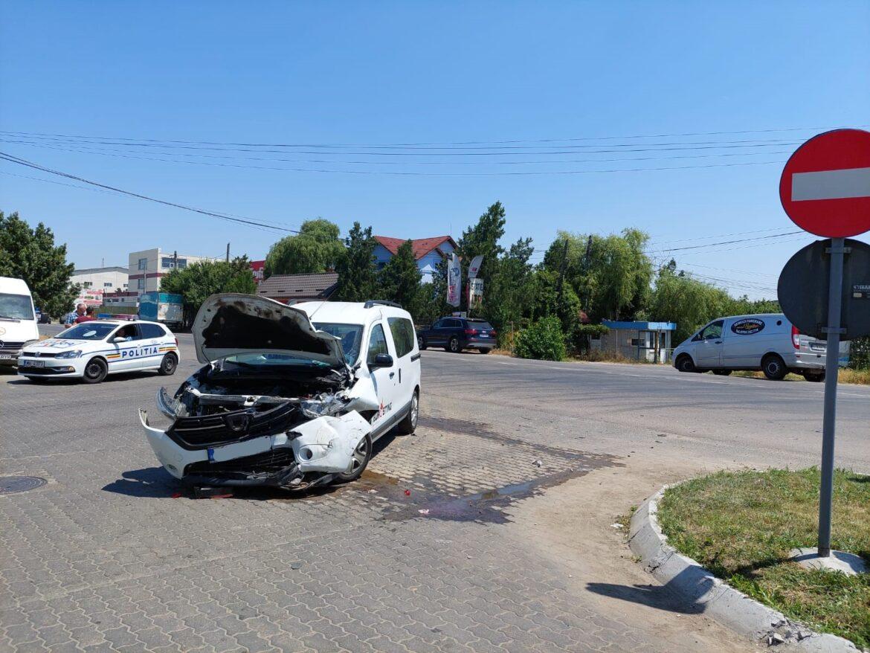 Breaking news : Trafic dirijat pe DN2B(Șoseaua Spătarului), în municipiul Buzău, zona stației de carburant Petrom