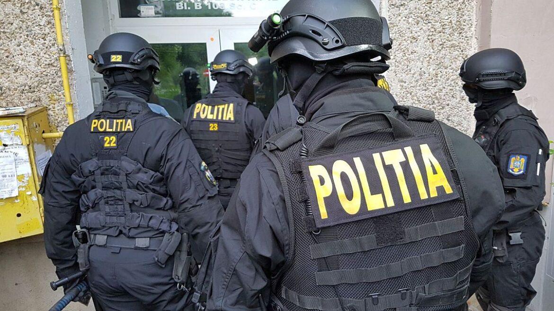 Polițiștii fac percheziții în 5 județe: prejudiciu uriaș la bugetul de stat. Judetele vizate sunt : Maramureş, Braşov, Ilfov, Buzău şi Olt.