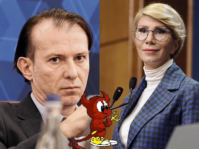 Probleme în paradis !! Raluca Turcan sare la gâtul premierului Florin Cîțu reprosându-i că are arici la buzunare !!