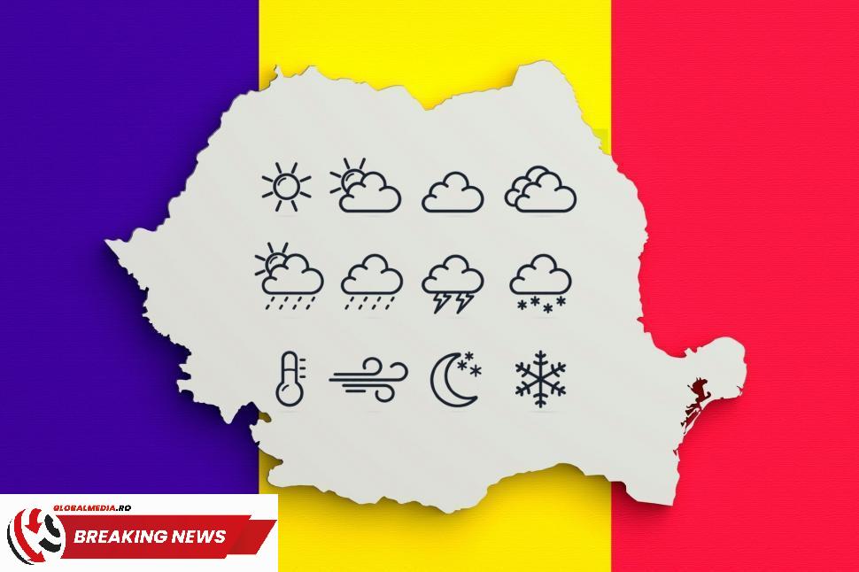 Se schimbă vremea în România: un front rece atmosferic va ajunge în țara noastră